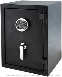 AmazonBasics Fire Resistant Safe - 1.24 Cubic Feet (Retail $158.00)