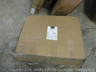 AmazonBasics Mesh Fabric Executive High-Back Chair, Black (Retail $90.00)