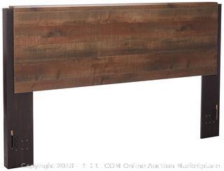 Ashley Furniture Signature Design - Windlore King Panel Headboard - Component Piece - Dark Brown (Retail $349.00)
