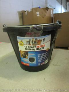 Heated Rubber Bucket