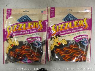 sizzlers bacon-style dog treats