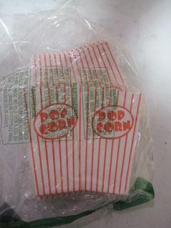 Pop Corn Bags