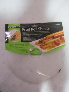Fruit Roll Sheets