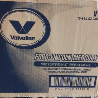 Valvoline Ford Lincoln Mercury Moly Fortified Multi Purpose Grease