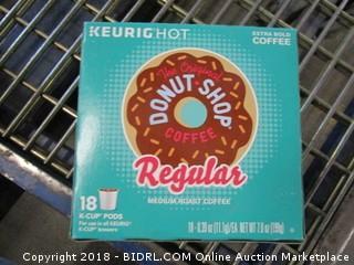 The Original Donut Shop Coffee Regular K-Cups (18 Pods)