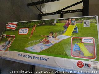 Little Tikes Wet and Dry First Slide
