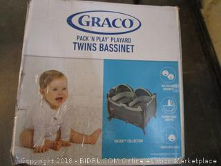 Graco Twin Bassinet Factory Sealed