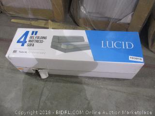 "Lucid 4"" Gel Folding Mattress Sofa"