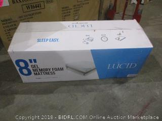 "Lucid 8"" Gel Memory Foam Mattress"
