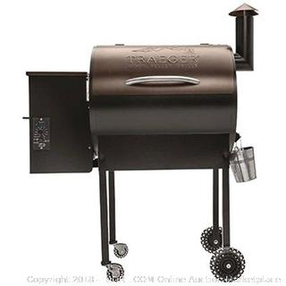 Traeger Pro Series 22 Wood Pellet Grill, Bronze (Retail $913.00)