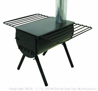 Camp Chef Alpine CS14 Heavy Duty Cylinder Tent Cabin Stove with damper and side shelves (Retail $199.00)