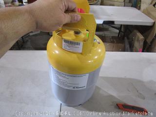 Mastercool Gray/Yellow Refrigerant Recovery Tank