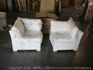 2-Outdoor Chairs