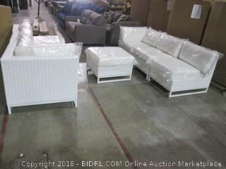 Outdoor Furniture Sofa's and Ottoman See Pictures
