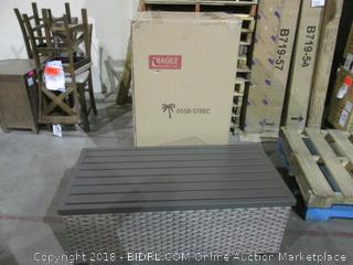 Outdoor Storage Bench