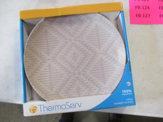 Thermo Serv Dinner Plates