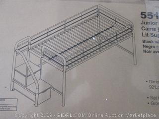 Junior Loft bed with Storage Steps