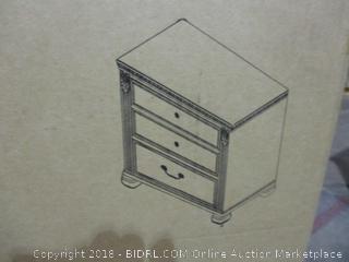 Signature 2 Drawer Night Stand