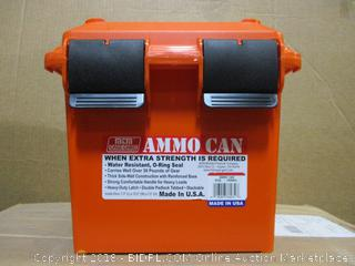 Ammo Can Water resistant , O-Ring Seal