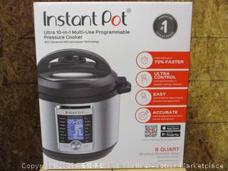 Instant Pot Ultra 10 in 1 Multi Use Programmable Pressure Cooker