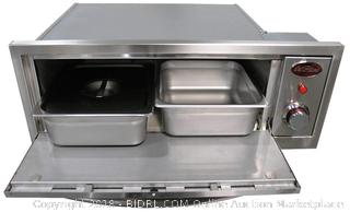 CalFlame BBQ10967E-A 2-in-1 Oven (Retail $868.00)
