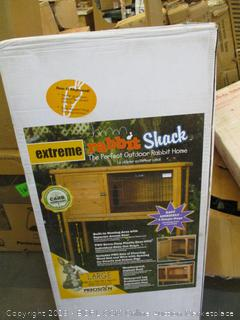 Precision Pet Rabbit Shack (Retail $153.00)