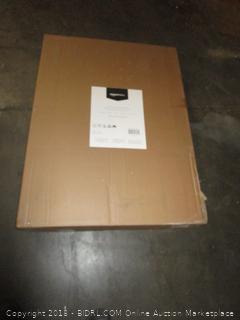 AmazonBasics Platform Bed Frame, Black, Queen (Retail $89.00)
