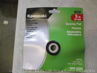Kawasaki Backing Pad