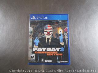 PayDay PS4 Game