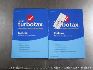 TurboTax Deluxe 2016