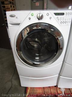 Whirlpool Washer (powers on)