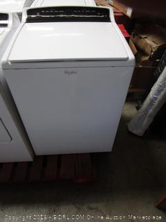 Whirlpool Washer (not tested, powers on)