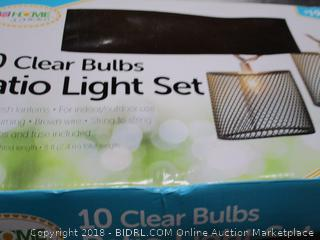Patio Light Set
