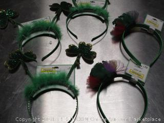 Green Clover Head Piece