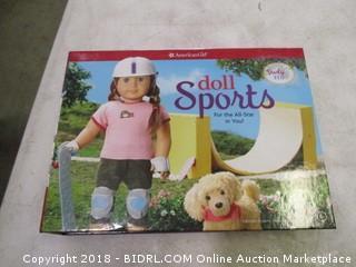 American Girl Doll Sports Book