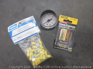 Solderless Connectors, Brassware, Pressure Meter