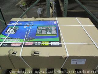 "Spalding NBA Hercules Vertical Pole Portable Basketball System - 52"" Acrylic Backboard (Retail $383.00)"