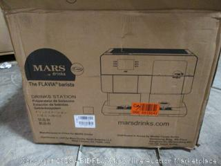 Mars Drink Barista Drink Station Powers On Factory Sealed-OPENED FOR PICTURING