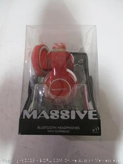 Massive Bluetooth Headphones with Superbass