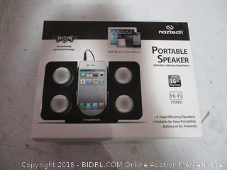 naztech Portable Speaker