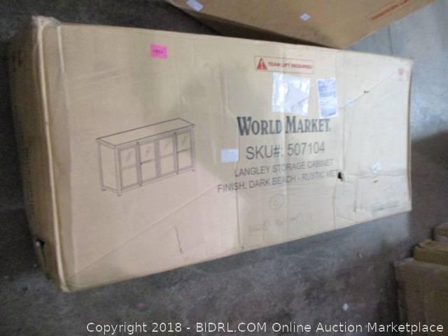World Market Langley Storage Cabinet