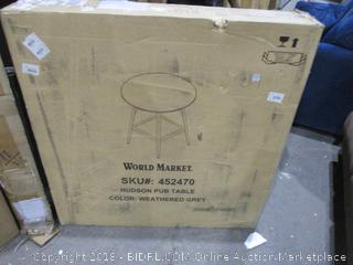 World Market Hudson Pub Table