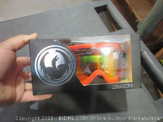DXS Future/Yellow Red Ion Lens Ski/Snowboard Googles