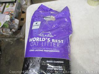 World's Best Cat Litter Quick Clumping