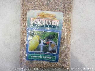 Rainforest Exotics Finch & Canary Food