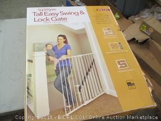 Supergate Tall Easy Swing & Lock Gate