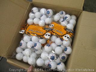 Halloween Eye Ping Pong Balls