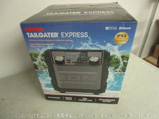 Ion Tailgater Express Waterproof Speaker System