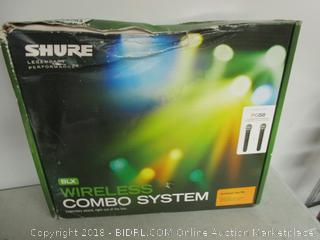 Shure Wireless Combo System Microphones
