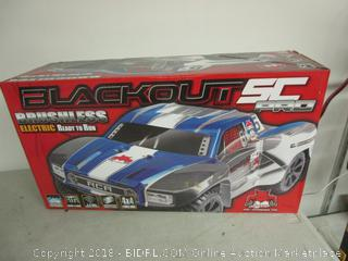 Brushless Electric Blackout SC Car